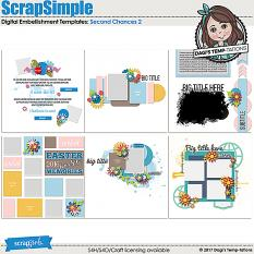 Second Chances 2 Digital Layout Templates by Dagi's Temp-tations