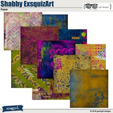 Shabby ExsquizArt Papers