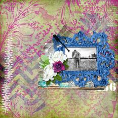 Layout using Shabby ExsquizArt