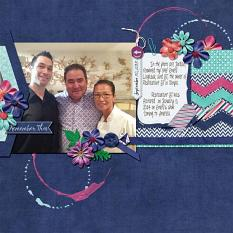 Layout by Kathryn using Project Keepsake: January - Collection Biggie