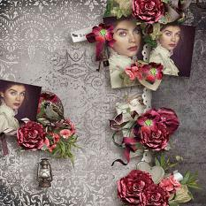 layout using Value Pack: Romantic by florju designs
