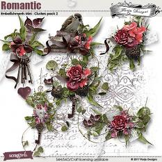 Romantic Embellishment Mini: Cluster pack 2 by florju designs