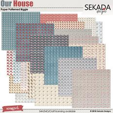 Our House Paper Biggie Patterned