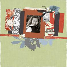 Hello, You!  Layout by Melissa Renfro