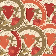 Angels And Hearts Cupcake Toppers by On A Whimsical Adventure