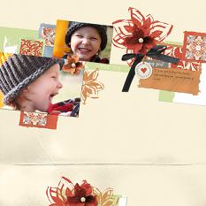 True Joy layout by Melissa Renfro