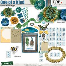One of a Kind Embellishment Biggie by DRB Design | ScrapGirls.com