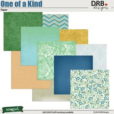 One of a Kind Paper by DRB Design | ScrapGirls.com