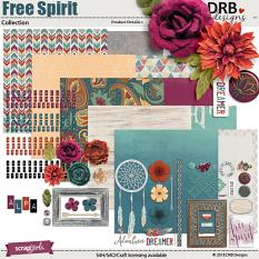 Free Spirit Collection by DRB Designs | ScrapGirls.com