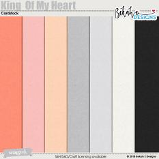 King Of My Heart - Cardstock