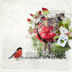 layout using Easy Page Pro Mini Album Delicious Day by florju designs