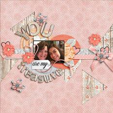 Layout by Joanna using King Of My Heart - Collection Biggie