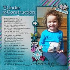 Layout by Kathryn using ScrapSimple Paper Templates: Easy Blenders 01