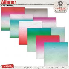 Aflutter Gradient Papers by On A Whimsical Adventure