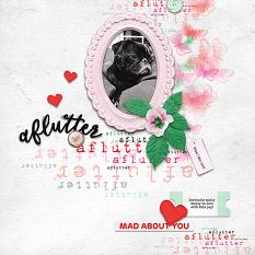 Digital layout using Value Pack: Aflutter by On A Whimsical Adventure