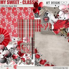 My Sweet - Classic Digital Scrapbooking Collection Super Mini by AFT Designs - Amanda Fraijo-Tobin @ScrapGirls.com