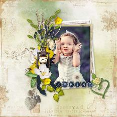 layout using Value Pack: Spring by florju designs