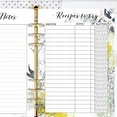 suggestion of presentation Spring: Planner A5 February by florju designs