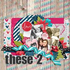 Layout by Joanna using using Unforgettable - Collection Biggie