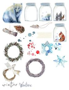 Winterland Memories Collection Sheet 3 by Aftermidnight Design