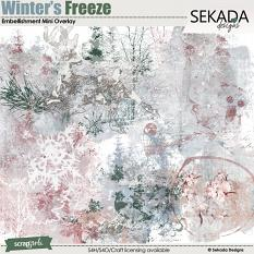 Winters Freeze Embellishment Mini Overlay