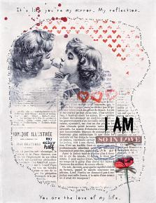 Digital layout using I Heart You Collection Biggie by On A Whimsical Adventure