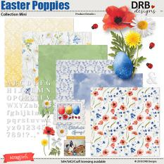 Easter Poppies Collection Mini by DRB Designs | ScrapGirls.com