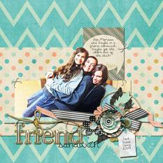 Layout by Joanna using Project Keepsake: February - Collection Biggie