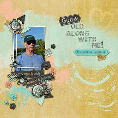 Layout by Kathryn using Project Keepsake: February - Collection Biggie