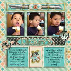 Layout by Penny using Project Keepsake: February - Collection Biggie