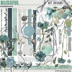 Blissful Embellishment Biggie by AFT Designs