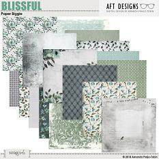 Blissful Digital Printable Background Papers by AFT Designs - Amanda Fraijo-Tobin