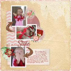 Layout by Shannon Trombley using My sweet Valentina Collection by Aftermidnight Design
