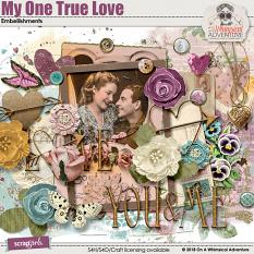 My One True Love Embellishments by On A Whimsical Adventure
