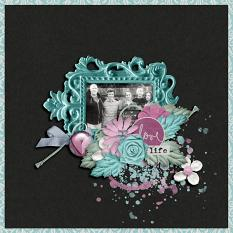 Layout by Bekah using Hope Springs New - Frilly Frames