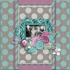 Layout by Bekah using Value Pack: Hope Springs New
