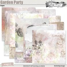 Garden Party Time Paper Biggie by florju designs