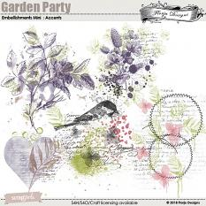 Garden Party Time Embellishment Mini: Accents by florju designs