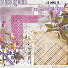 Faded Spring Mini Kit by AFT Designs - Amanda Fraijo-Tobin @Oscraps.com | #minios #aftdesigns #oscraps