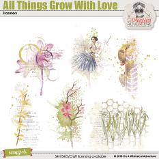 All Things Grow With Love Transfers by On A Whimsical Adventure