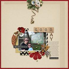 layout by Deb using Onederful 4 by Dagi's Temp-tations