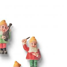 ScrapSimple Embellishment Templates: Vintage Findings Vol7 Gnomes by On A Whimsical Adventure