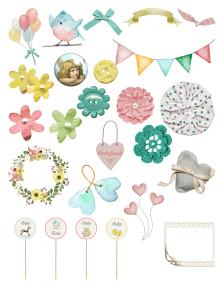 Sweet Baby Sheet 1 by Aftermidnight Design
