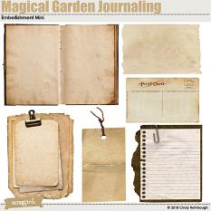 Magical Garden Journaling Embellishment Mini By Cindy Rohrbough