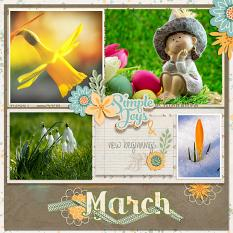 layout by Marie using Hello 2018: March by Dagi's Temp-tations