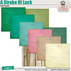 A Stroke Of Luck Solid Papers by On A Whimsical Adventure