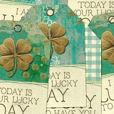 A Stroke Of Luck Gift Tags by On A Whimsical Adventure