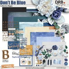 Don't Be Blue Collection Biggie by DRB Designs | ScrapGirls.com