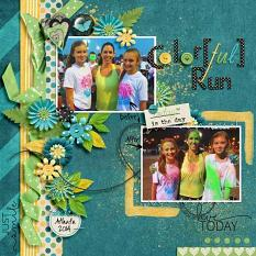 Layout by Kathryn using Brighter Days - Collection Biggie