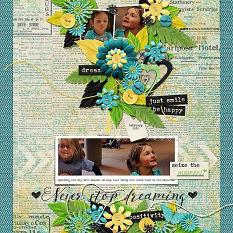 Layout by Kim using Brighter Days - Collection Biggie